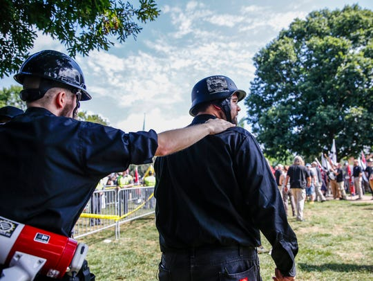 With a guard always attached to his back, Matt Heimbach,