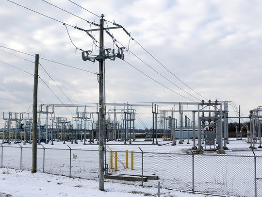 More lines will be coming out of the Townsend substation on Dogtown Road once the second 138,000-volt transmission line is added in 2018.