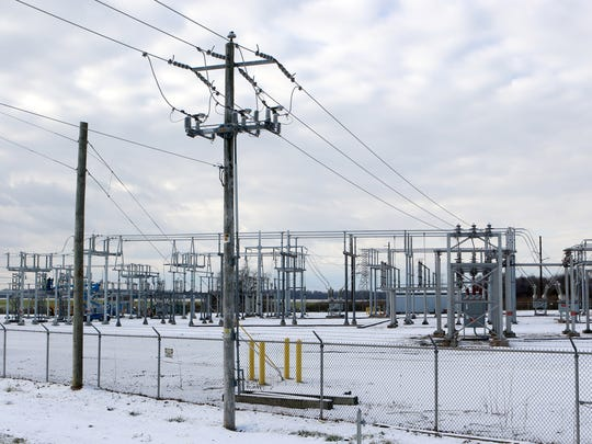 More lines will be coming out of the Townsend substation on Dogtown Road once the second 138,000-kilovolt transmission line is added in 2018.