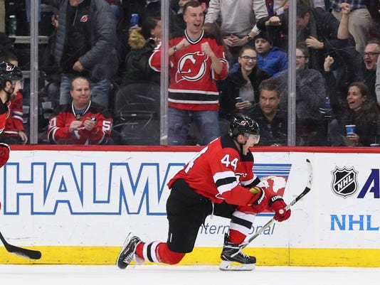 separation shoes df35e f96b1 What NJ Devils' Miles Wood learned during his holdout