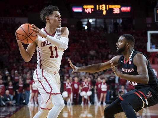 NCAA Basketball: Texas Tech at Oklahoma