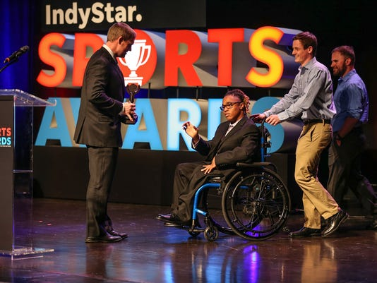 Third annual IndyStar Sports Awards at Butler's Clowes Memorial Hall 2018
