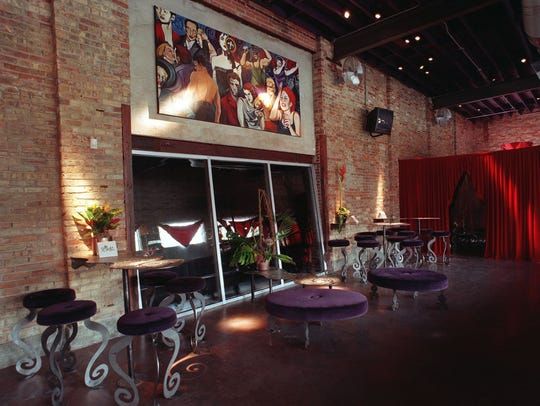 Interior of Spiral in Old Town, Oct. 27, 1998.