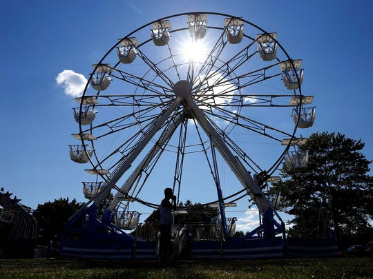 Midway rides are fun for all ages at the Chemung County