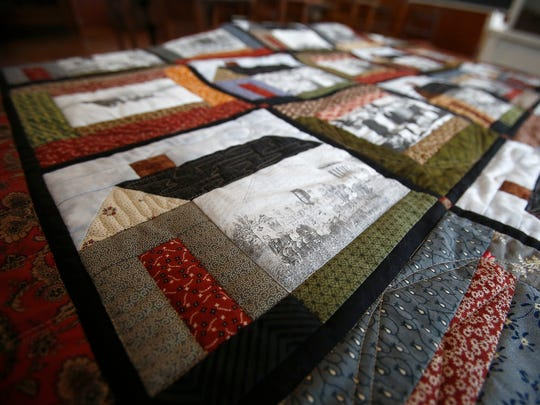 A quilt project led by the Warren County Historical