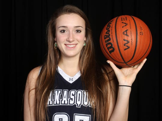 All-Shore Girls Basketball Player of the Year Marina Mabrey of Manasquan.