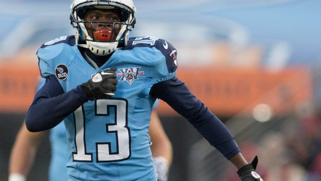 Wide receiver Kendall Wright was a first-round pick of the Titans in 2012.