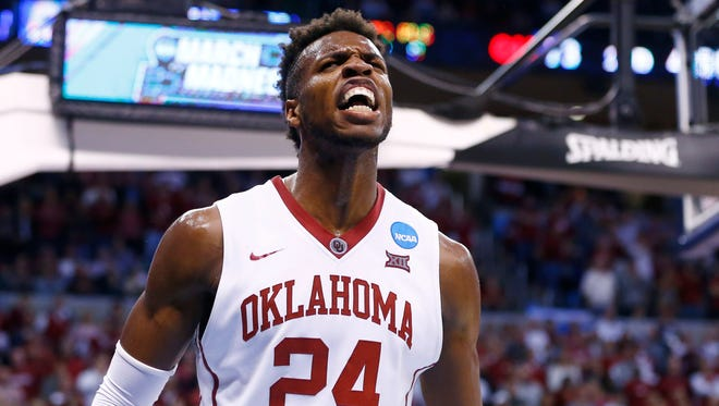 Buddy Hield considered going to Kansas before choosing Oklahoma, where he has led the Sooners to the Final Four.