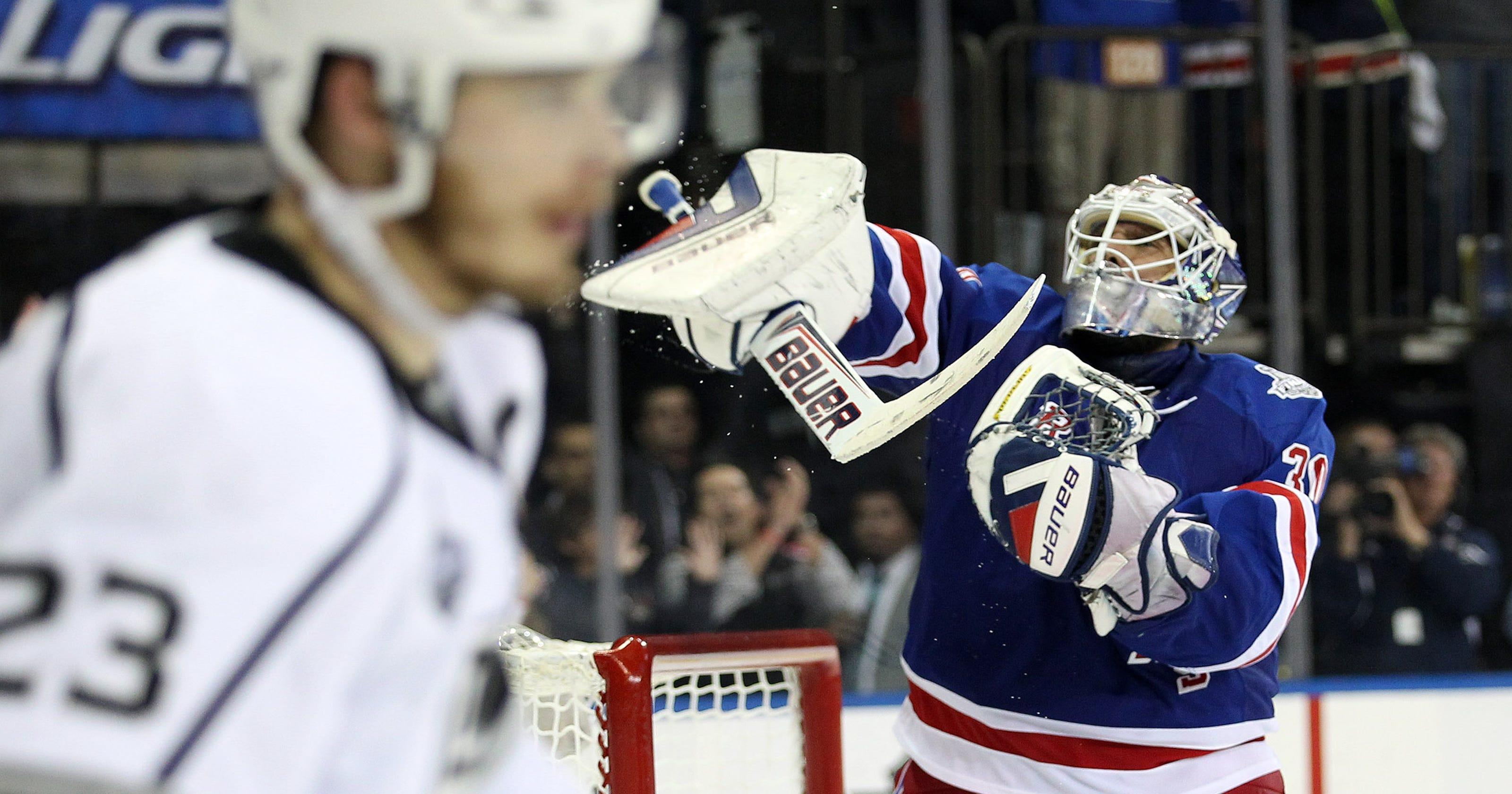 Rangers Henrik Lundqvist Steals Game 4 Vs Kings