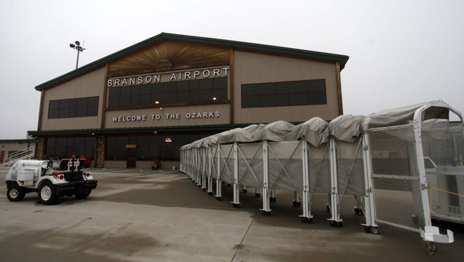 Branson Airport announced 2018 service to three cities Tuesday.