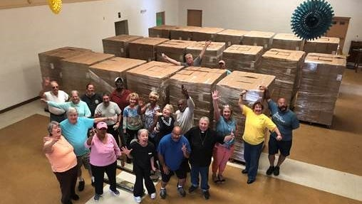 No One Hungry, a food bank ministry in Titusville, received 23,000 meals from FEMA Thursday.