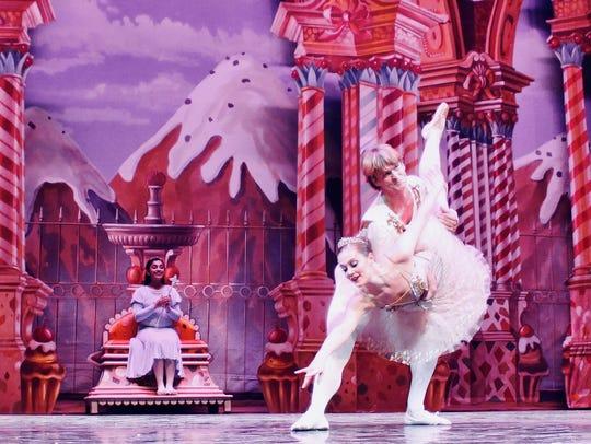 The Cavaliere, danced by guest artist David Sanders,