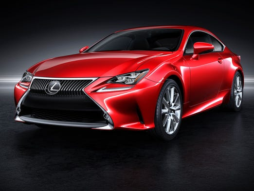 The all-new Lexus RC coupe, to be introduced this month at the Tokyo Motor Show, and due in the U.S. in the fourth quarter next year.
