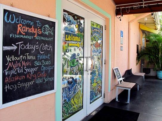 Randy's Fishmarket Restaurant, 10395 U.S. 41 N. in