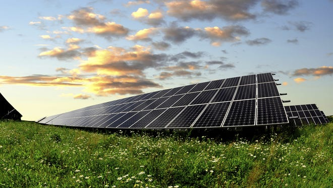 Solar companies are trying to lock up private acreage across New York to install solar farms as the Gov. Andrew Cuomo administration mandates that half the state's electric generation come from renewable sources by 2030.