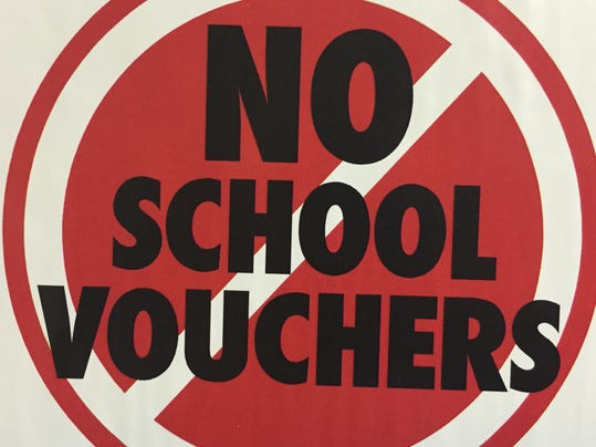 ANTI-VOUCHER GROUPS GEARING UP ON CAPITOL HILL.