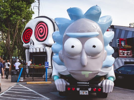The Rickmobile will make a stop in Wauwatosa on Thursday.