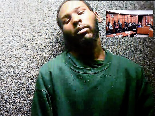 Clarence Williams, 26, of Spring Street in Paterson, appeared via videoconference for his first appearance before Judge Joseph Perconti on Tuesday.