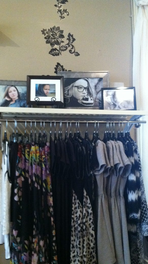 A sneak peak at some of the Michele Ashlee's photos at BeBe Mills. photo by Caurie Putnam