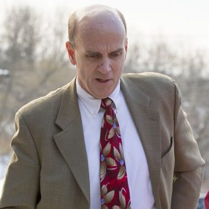Cal Harris, of Spencer, is facing his third trial for