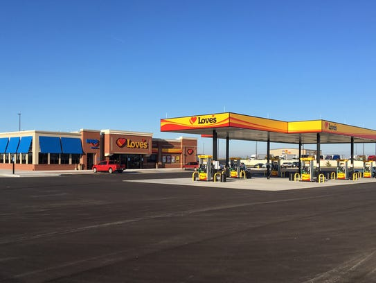 Love's Travel Stop opened earlier this year in Sidney,