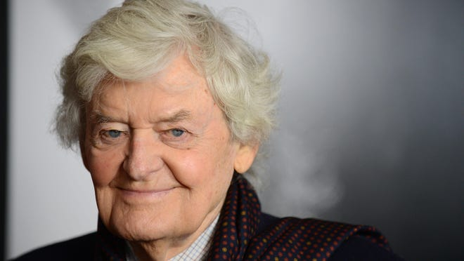 """Actor Hal Holbrook arrives for a screening of """"Lincoln"""" at the AFI Fest in 2012. Holbrook has died at the age of 95."""