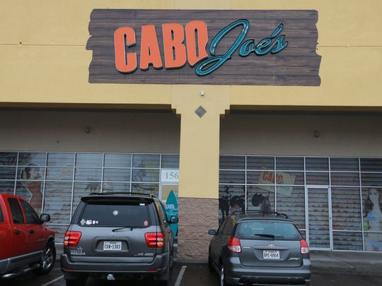 Cabo Joe's has two locations in El Paso: 1700 N. Zaragoza and 7942 Gateway East.