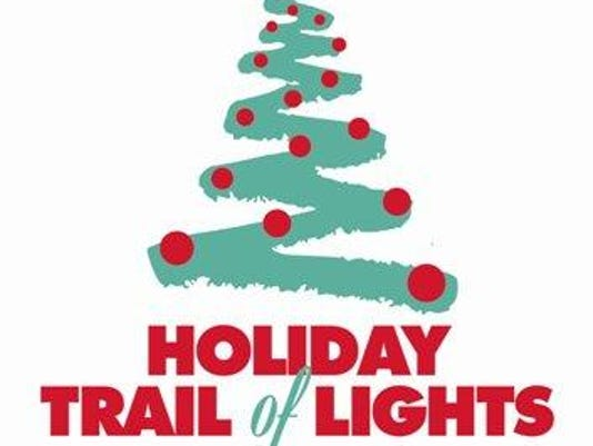 Holiday trail of lights logo