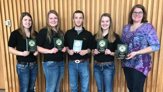Polk County will represent Wisconsin at the national competition later this fall in Louisville, Kentucky. Team members included Kristi Getschel, Marie Haase, Tayler Elwood, and Mikayla Peper. This team was coached by Gwen Dado and Patti Hurtgen.