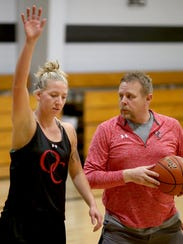 Olympic College women's basketball player Taylor Sunkel