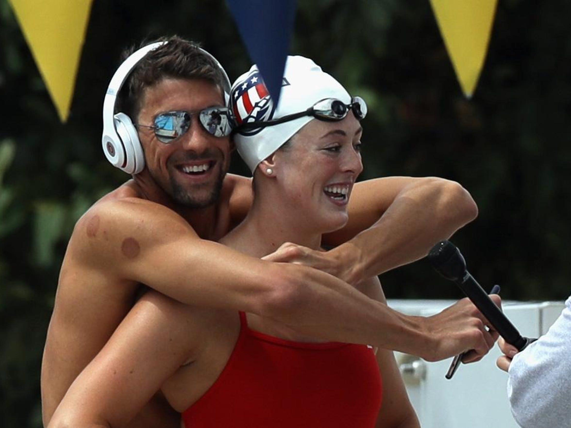 2016 U.S. Olympic Swimming Team Training Camp Media Day