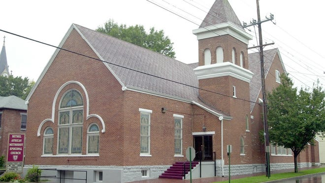 Bethel AME Church, located at 200 S. Sixth St. in Richmond, has used this buliding since 1869.