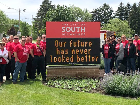 South Milwaukee has a new logo designed by Savage Solutions.