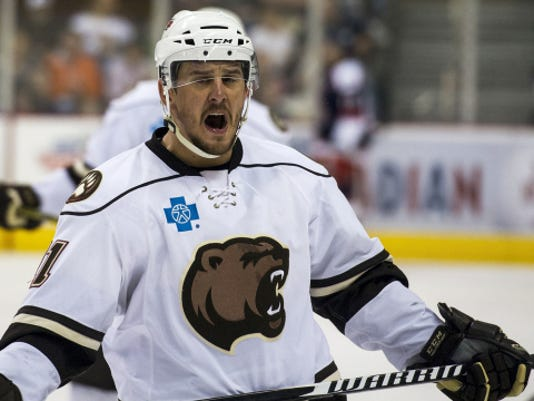 Kris Newbury and the rest of the Hershey Bears organization will continue their affiliation with the Washington Capitals next season, the two teams announced on Wednesday.