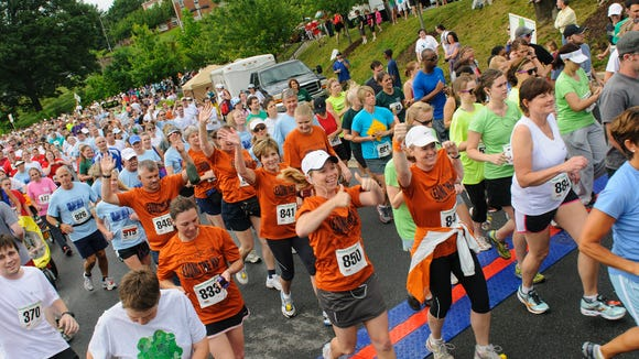 The annual Chamber Challenge 5K will be June 3 starting at the Asheville Area Chamber of Commerce.