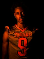 2016 Fall Player of the Year finalist Jacquez Carter,