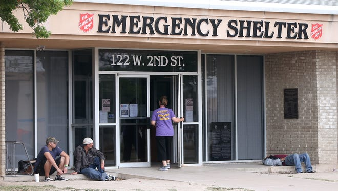The Salvation Army Emergency Shelter is located at 122 W. 2nd St. in San Angelo.