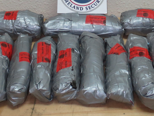 U.S. Custom and Border Protection officers seized more