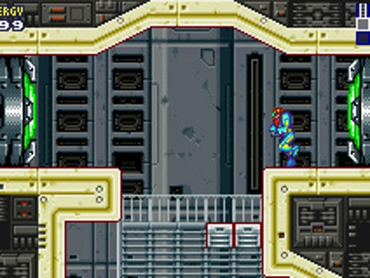 Metroid Fusion Samus Aran