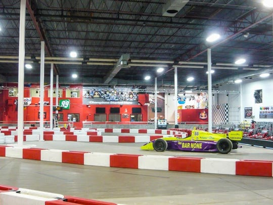 "K1 Speed in Phoenix has ""speed storm"" karts for drivers"