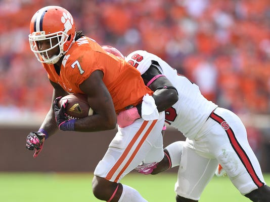 Clemson North Carolina State Football