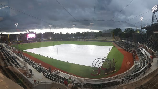 Mississippi State's game against Alabama on Friday was postponed due to weather.