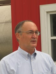 Clark W. Hinsdale III, owner of Nordic Farms in Charlotte,
