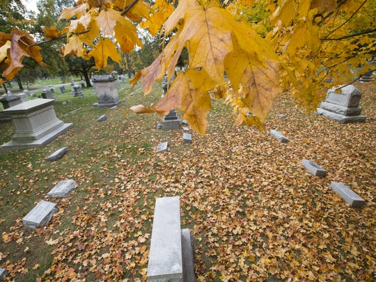 Head to Crown Hill Cemetery on Oct. 14 for ghost stories.