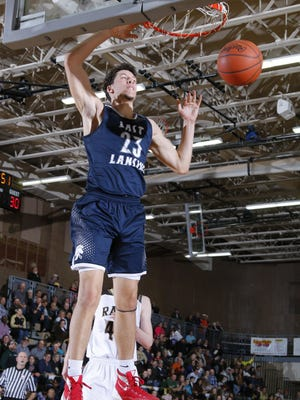 East Lansing's Brandon Johns made his college decision Thursday, choosing the University of Michigan.