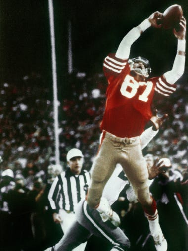 Dwight Clark, who made one of the most famous plays