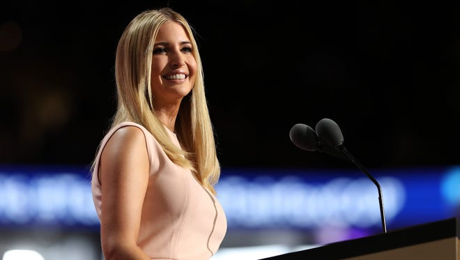 Ivanka Trump will be campaigning for her father Sunday in New Cumberland.