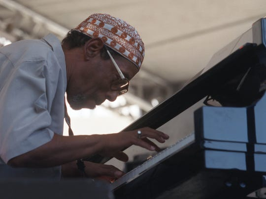 The late Kenn Cox, shown here at the 2002 Detroit Jazz Festival, will be honored with tribute sets on Saturday afternoon on the Water Front Stage.