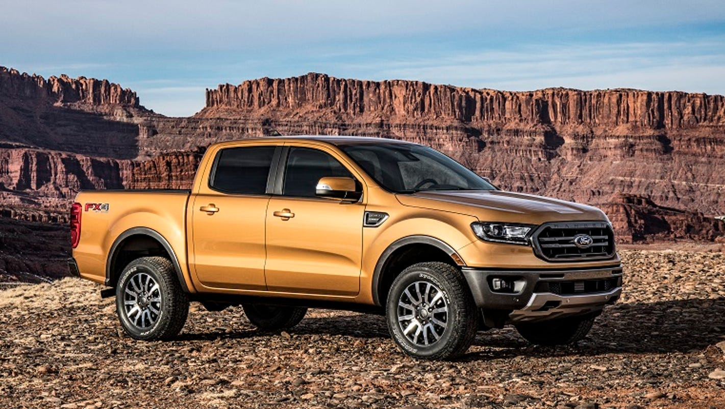 ford shows new ranger midsize pickup. Black Bedroom Furniture Sets. Home Design Ideas