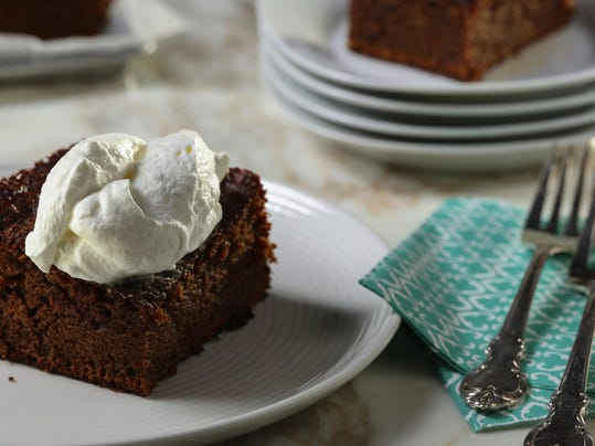 Brown butter brings nutty flavor to aromatic, spiced gingerbread